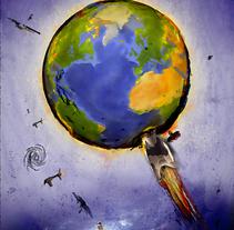 tierra. Un proyecto de Diseño e Ilustración de Hernan Ramirez - Martes, 21 de diciembre de 2010 14:22:27 +0100