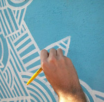 Mural 01. Portoalegre. A Design, Illustration, Installations, and Photograph project by Pablo Pino - Dec 25 2010 05:28 PM