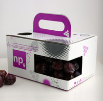Packaging NP Grape. Un proyecto de Diseño de sergi nadal         - 08.01.2011