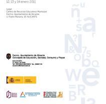 Díptico y folleto  Concejalía de Educación de Alicante. Um projeto de Design e Publicidade de Símbolo Ingenio Creativo         - 17.01.2011