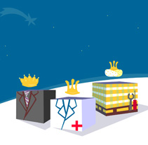 Feliz Navidad desde M.A.Z.. Un proyecto de Ilustración y Motion Graphics de Carolina Albalá - 27-01-2011
