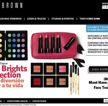Bobbi Brown España. A Design, Illustration, Advertising, Software Development, and Photograph project by Ignacio Hernández Roncal         - 01.02.2011