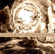 Cd Kotebel Ouroboros. A Design, Illustration, Music, Audio, and Photograph project by Ignacio Hernández Roncal         - 01.02.2011