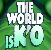 The world is KO. Um projeto de Design, Ilustração e Cinema, Vídeo e TV de SKIZOGRAFICS         - 11.02.2011