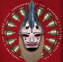Cartel entroido Xinzo. Un proyecto de Diseño de Xosé Xoga - Lunes, 21 de febrero de 2011 14:10:59 +0100
