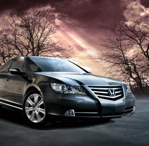 New Honda Legend. A Design, and Advertising project by Fernando Russo - 23-02-2011