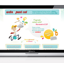 Websalpunt.cat. A Design, Advertising, and UI / UX project by laKarulina  - 23-03-2011