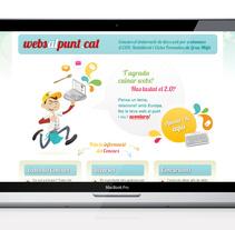 Websalpunt.cat. Un proyecto de Publicidad, Diseño y UI / UX de laKarulina  - Miércoles, 23 de marzo de 2011 12:15:26 +0100