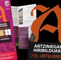 Artziniega hiribildua 735.urteurrena. Un proyecto de  de Eztizen Angulo          - 30.03.2011