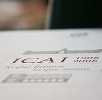 ICAI Diseño libro Centenario. A Design project by Marcos Prack         - 04.04.2011