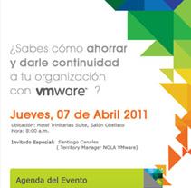 Mail Marketing Evento vmware. Um projeto de Design, Publicidade, Desenvolvimento de software e UI / UX de Adrian Ramos         - 17.04.2011