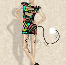 Animals&energy models. Un proyecto de Diseño e Ilustración de Lara Galán  - 25-04-2011