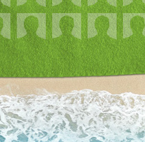 La toalla mas grande del mundo. Um projeto de Design de Rubén Martínez Pascual         - 17.05.2011