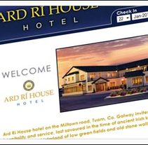 Ard Ri House hotel. A Design, Software Development, and UI / UX project by josé miguel martínez         - 01.06.2011
