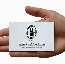 Identidad visual Kidsfashionland. Un proyecto de Diseño e Ilustración de Gloria  Joven  - Martes, 07 de junio de 2011 15:11:34 +0200