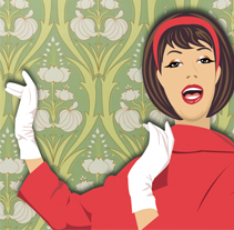 60´. A Illustration project by Sandra Romero - Jun 08 2011 11:36 AM