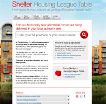 Shelter. Un proyecto de Diseño, Ilustración, Desarrollo de software y UI / UX de Caroline Elisa Haggerty         - 07.07.2011