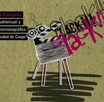 Clack!. Um projeto de Motion Graphics e Cinema, Vídeo e TV de Alberto Senante         - 11.07.2011