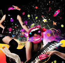 Music Juice. A Design, Illustration, Advertising, Music, Audio, Photograph, and 3D project by Gaston Charles         - 14.07.2011