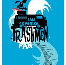 I Am A Spanish Trashmen Fan. A Design&Illustration project by David Campesino         - 18.07.2011