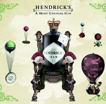 HENDRICK´S GIN. A Design, Motion Graphics, and 3D project by Félix Marín Grachitorena         - 04.08.2011