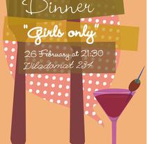 dinner party. Un proyecto de Diseño e Ilustración de adriana carcelen         - 19.08.2011