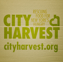 City Harvest // One Show '11. A Advertising project by Andrea Aguilar Jiménez - 25-08-2011