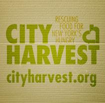 City Harvest // One Show '11. A Advertising project by Andrea Aguilar Jiménez - Aug 25 2011 12:30 PM