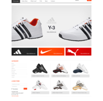 sports shoes. Un proyecto de Diseño, Motion Graphics, Desarrollo de software, UI / UX e Informática de olivier DAURAT         - 26.08.2011