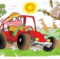 Ilustración Educación Primaria. Un proyecto de Ilustración de Emil Markov - 05-09-2011