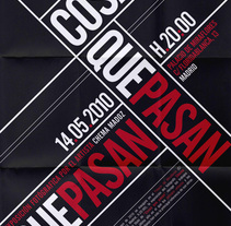 Typographic Posters. A Design&Illustration project by Alessandra Pavan         - 16.09.2011