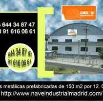 Carteles para REFORMAS en Madrid.. A Design project by Doina Catruna         - 21.09.2011