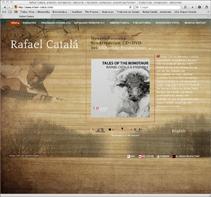 Rafael Catalá, guitarrista | Web. Um projeto de Design, Ilustração e Desenvolvimento de software de José Luis Ferrando Viñola         - 30.09.2011