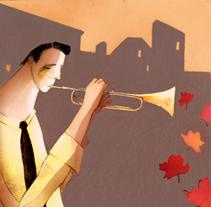 Jazz. Un proyecto de Ilustración de Lola Roig - Sábado, 22 de octubre de 2011 12:36:37 +0200