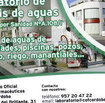 Anuncio Colegio Oficial de Farmacéuticos de Córdoba. A Design, and Advertising project by dramaplastika - 26-10-2011