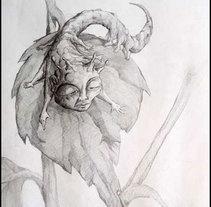 Dibujos a lapiz. Um projeto de Ilustração de DANIEL RAMOS POL         - 27.10.2011