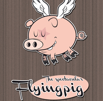 flying pig. A Illustration project by Yago Juez Deusto - 29-10-2011