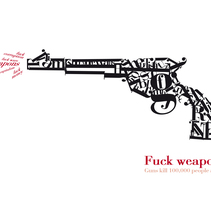 Gun. A Illustration project by Yago Juez Deusto         - 29.10.2011