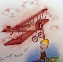 ilustraciones. Un proyecto de Ilustración de INES BENITO MATIAS         - 01.11.2011