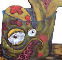 ''THE PULP''. Um projeto de Ilustração de Natxo  Ramirez Garcia - 08-11-2011