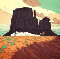Proyecto 2. A Illustration project by jon  juarez gaztelu - 12.02.2013