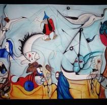 Ilustración | Las Tentaciones de San Anton . A Illustration project by Natacha  Côrte-Real Duarte Pessanha         - 10.11.2011