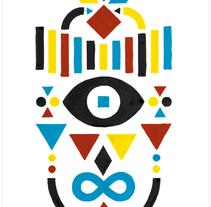 Geometría y color. A Design&Illustration project by Erre Gálvez         - 14.11.2011