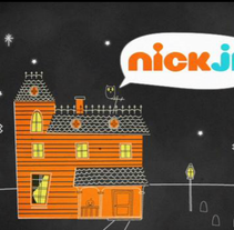 Halloween ID for Nick Jr. A Illustration, Motion Graphics, Film, Video, and TV project by Victoria Fernandez         - 17.11.2011