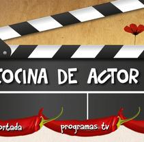 Cocina de actor. A Design, and Advertising project by luis gómez muñoz         - 26.11.2011