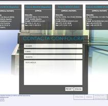 FOLCRÁ web. Un proyecto de Diseño, Motion Graphics y Desarrollo de software de Marco Somma         - 01.12.2011
