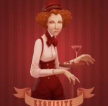 Exquisite. A Illustration project by Laura Wächter         - 06.12.2011