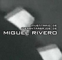 Portafolio Flash. Un proyecto de Diseño, Publicidad y Desarrollo de software de Miguel Rivero López         - 14.12.2011