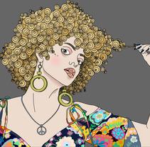 ella. Un proyecto de Ilustración de Joan Da Silva Estebanell - 15.12.2011