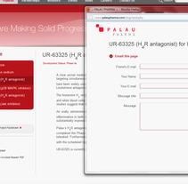 Palau Pharma. A Software Development&IT project by Sílvia Clavera Ibáñez         - 21.12.2011